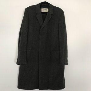 Rodex vintage English pure lambs wool coat
